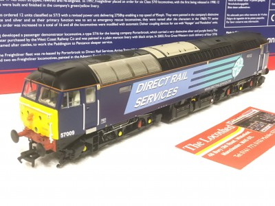 Bachmann 32-754ASF Class 57/0 57009 in DRS Compass Livery