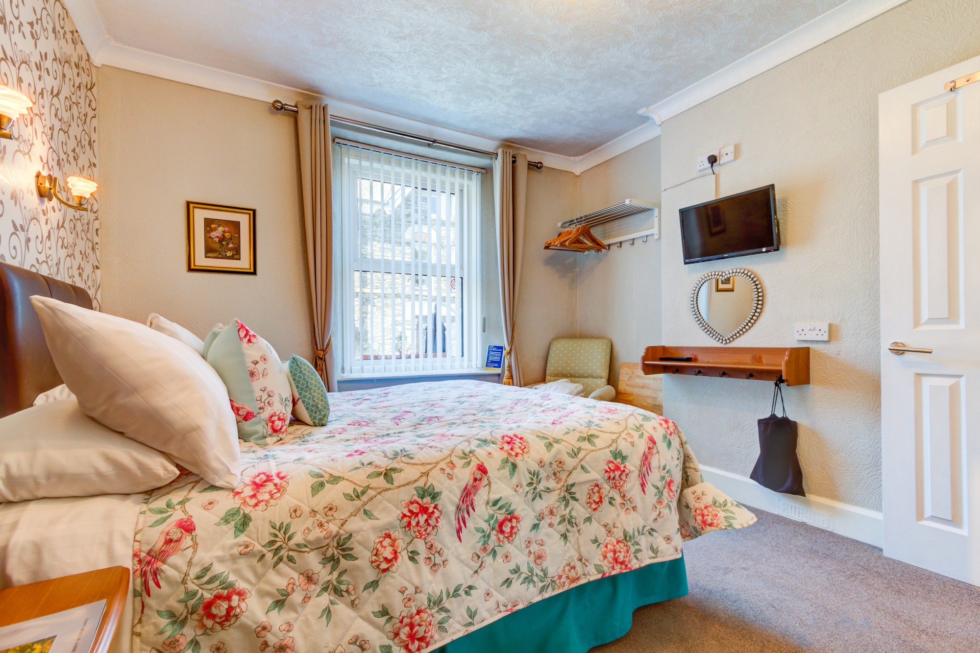 Double, Twin + family rooms available