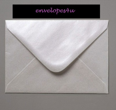 Ideal for Weddings 50 Oyster Lustre Mini Envelopes