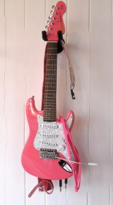Encore 3/4 Pink electric Guitar Outfit