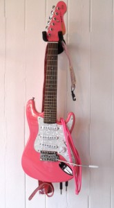 3/4 pink Electric Guitar outfit
