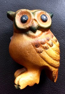 Hooting owl ,3 inches