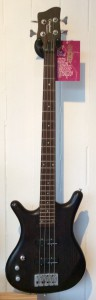 Left Handed Tanglewood Bass Guitar Warrior II