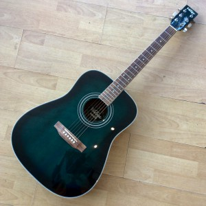Left handed Vintage Dreadnought Guitar