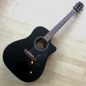 Fender Acoustic Dreadnought cutaway  CD -60 CE BK