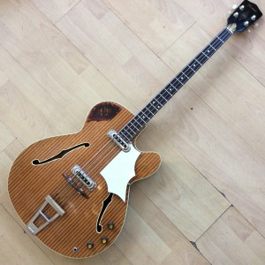Framus 60's semi acoustic  Bass 64K