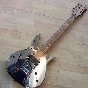 kevin Parsons Rickenbacker Metal finish