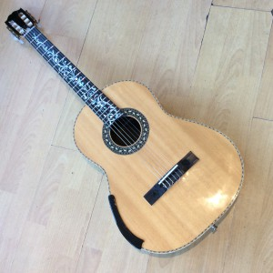 Classical Guitar-Hand crafted, with exquisite inlay