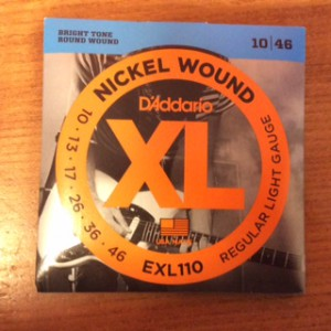D'Addario Electric 10's EXL110