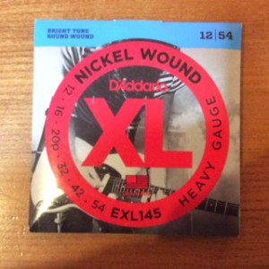 D'Addario Electric 12's EXL145