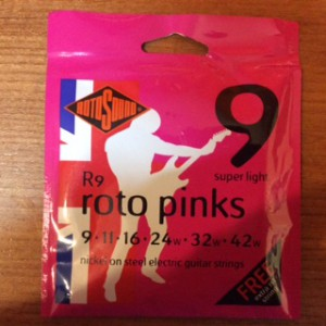 RotoSounds Roto Pink's R9 electric 9 gauge