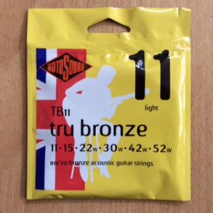 RotoSounds TrubronzeTB11 11/52Acoustic Strings