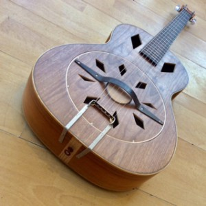 Resonator-Walnut Burke and Hare Kevin Parsons