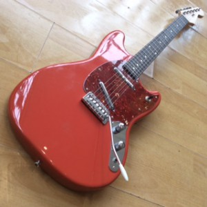 Kevin Parsons Mustang partcaster red