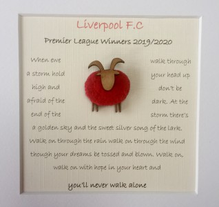 Liverpool - Ewe'll Never Walk Alone
