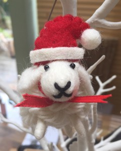 Christmas Sheep - Baa Humbug