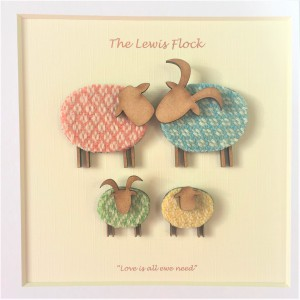Personalised Our Flock 2 Child