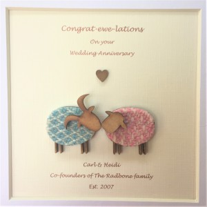 Congrat-ewe-lations On Your Wedding Anniversary
