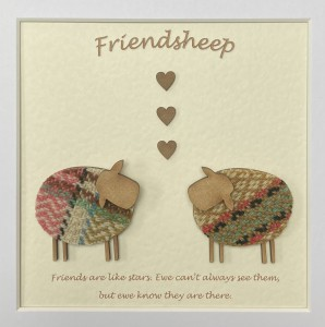 Friends Are Like Stars. Ewe Can't Always See Them, But Ewe Know They Are There.