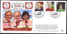 Manchester United Football Heroes FDC