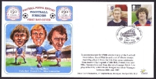 Manchester City - Bell Lee & Summerbee With D Law + K Keegan  Stamps Fdc