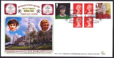 FH06 Football Heroes retail book FDC