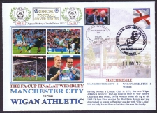 Fa Cup Final For 2013. Manchester City V Wigan Athletic.