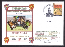 Capital Cup Semi-final 2013 - Aston Villa V Bradford City