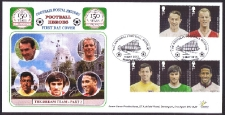 Dream Team Fdcs - Parts 1 & 2-(sold In Pairs Parts 1 + 2)