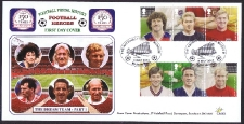 FH02 - FDC part 2 of Football Heroes (sold in pairs)