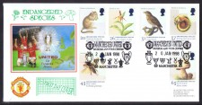 Man U Fdc - Endangered Species