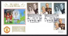 Manchester United Fdc Golden Wedding