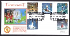 Man U Fdcs - Lighthouses 1998