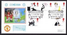 Man United Fdc - Comedians 1998