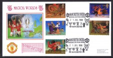 Man United Fdc - Magic World 1998
