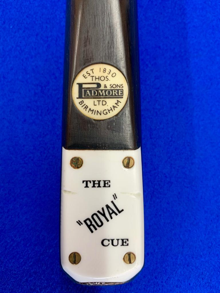 10020 Good condition Maple Padmore Royal Cue