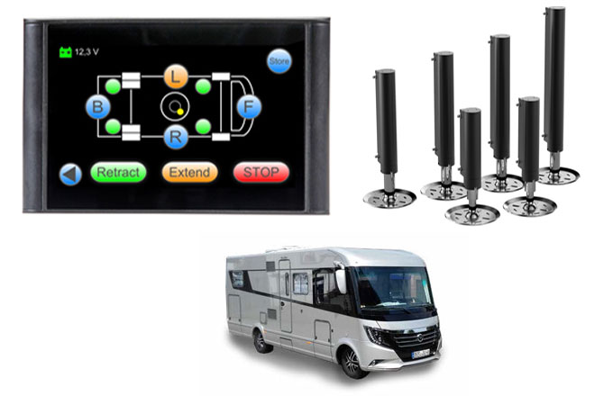 HPC Automatic Leveling System at LNB Towbars & Vehicle Extras Limited
