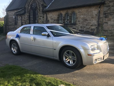 Silver Chrysler 300C (Baby Bentley)