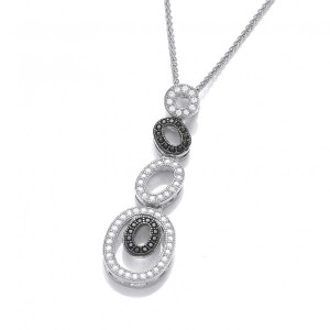 Cavendish French Opulent Ovals Pendant and Chain