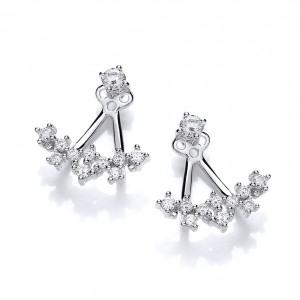 Cavendish French Galaxy Jacket Earrings