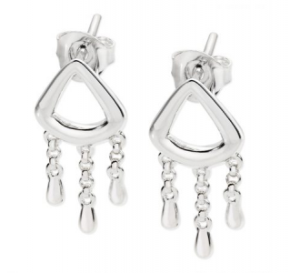 Lucy Q Short Drop Waterfall Earrings