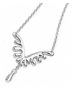 Lucy Q Mini V Style Wave Necklace
