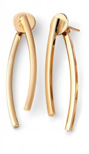 9ct Yellow Gold Interchangable Earrings