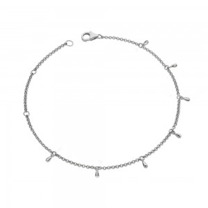 Multi Drop Anklet