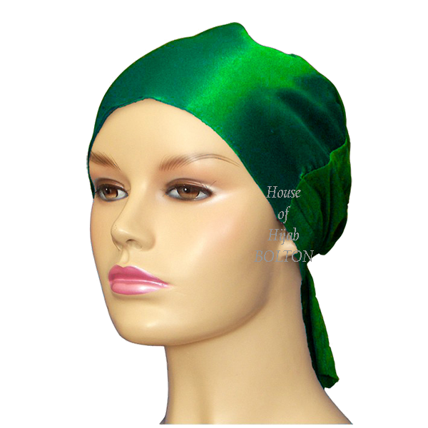 Satin Tie Back (Green)