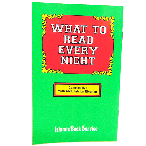 What To Read Every Night
