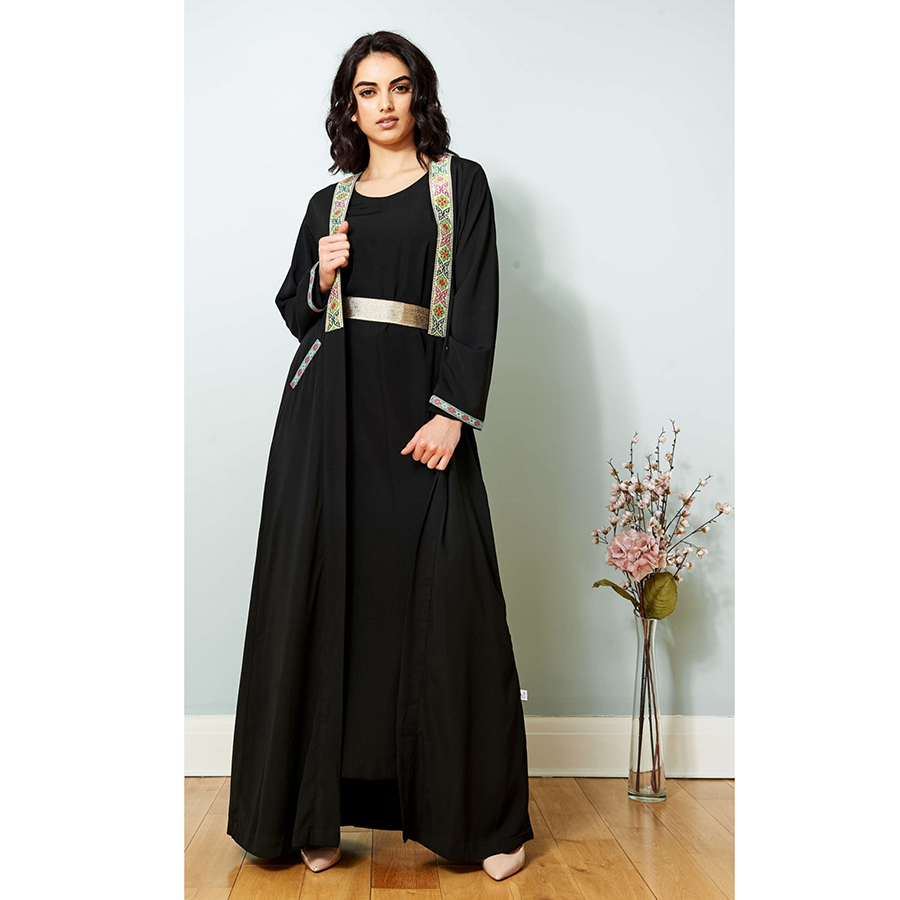 Open Black / Multi Cape (CWAB-146)