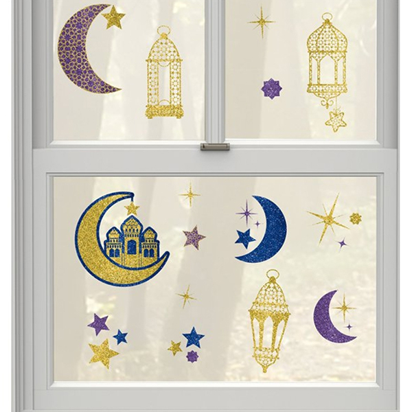 Eid Window Decorations