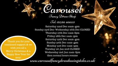 Christmas & New Year Opening Hours 2018/2019