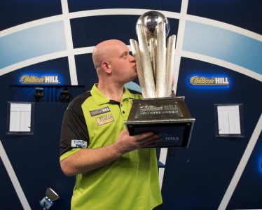 The William Hill World Darts trophy